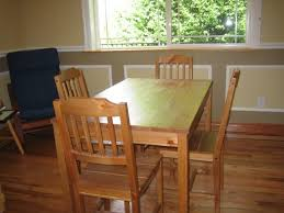 Light Oak Kitchen Table And Chairs Interior Entrancing Dining Room With Antique Oak Kitchen Table