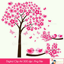 cherry blossom tree and bird sitting on the