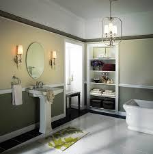 Bathroom Nice Bathroom With Washing Bahtroom Pleasant Bathroom With Chrome Light Fixtures Bathroom
