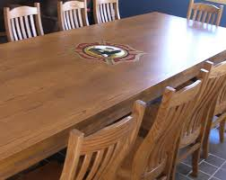 Red Oak Table by Ldm Wood Concepts Inc Commercial Conference U0026 Dining Room