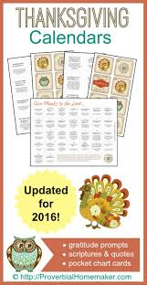 thanksgiving gratitude calendars printables thanksgiving