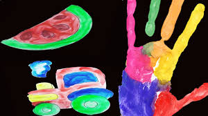easy finger painting ideas for toddlers pre learn colors