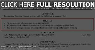 collection of solutions profile sample for resume also format