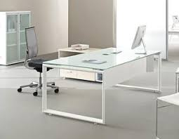 bureau contemporain un bureau en verre contemporain à prix réduit le de dominique
