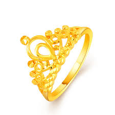 king gold rings images Exquisite fancy gold color elegant king queen prince crown ring jpg
