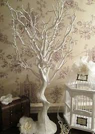 wedding wishes tree wedding wish tree manzanita vintage aged ivory white wishing tree