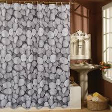 Fabric Shower Curtain With Window Fashion Sea Shell Starfish Waterproof Fabric Shower Curtain With