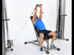 Seated Bench Press Seated Cable Incline Bench Press Youtube