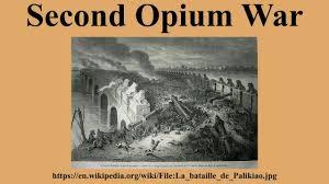 Opium by Second Opium War Youtube
