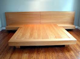 King Size Platform Bed Best 25 Bed Frame Plans Ideas On Pinterest Woodworking Plan