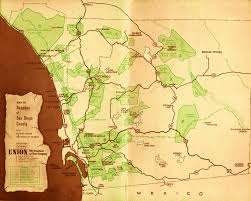 Map Of San Diego County by The Carlsbad Historical Society Increases And Enhances The