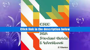 get pdf csec english sba student guide workbook pdf online video