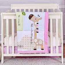 Elephant Crib Bedding Set Bedroom Baby Nursery Bedding Fresh Purple Elephant Crib Bedding