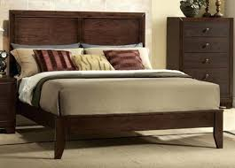 cal king wood bed frame king size bed frame with headboard
