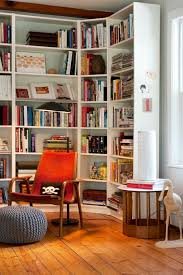 Bookshelves Decorating Ideas by Staggering Ikea Billy Bookcase Decorating Ideas