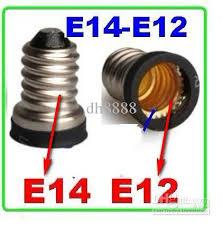 2017 european e14 to us e12 candelabra base socket led lightplug