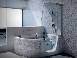 Small Bathroom Ideas With Tub And Shower Marvelous Grey Colors Plus Bathroom Shower Minimalist Small
