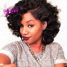 short curly bob wig short human hair wigs curly lace front human hair bob wigs for black