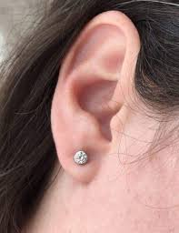best earrings to sleep in clear sensitive ears crystals and