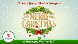 aussizz wishes merry a happy new year 2017