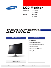 samsung service manual electrostatic discharge electrical