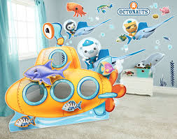 sea life giant wall decals and stand in kit birthdayexpress com