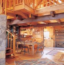 log cabin homes kits interior photo gallery - Log Homes Interior Pictures