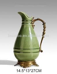Vase Shaped Jug Hand Made White Porcelain Jug Vase For Home Decoration Ornamental