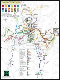 Michaux State Forest Map by Living In Asheville North Carolina November 2009