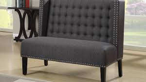 Upholstered Storage Bench With Back Dining Dining Settee Bench Padded Storage Bench Curved Banquette
