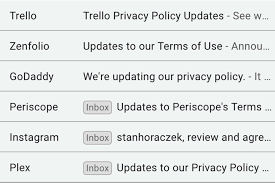 terms of use here s why you ve been getting so many privacy policy and terms of