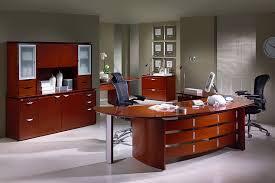 Contemporary Executive Office Desk 3pc Oval Shape Modern Contemporary Executive Office Desk Set Pf