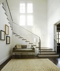 iron railing designs staircase contemporary with light pendant