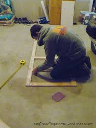 Plywood Garage Cabinet Plans Garage Cabinets Completed Engineering A Home