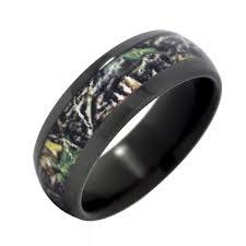 Camo Wedding Rings by Camo Wedding Rings For Men Black Camo Wedding Rings By One Camo Mm