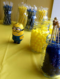 Table Shower Near Me Despicable Me Minions Baby Shower