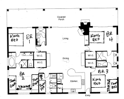 Bungalo Floor Plan Bungalow Floorplan Tingari Ranch