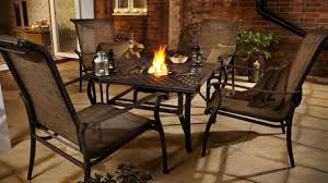 Patio Table With Built In Fire Pit - table fire pit table for outdoor area beautiful patio table with