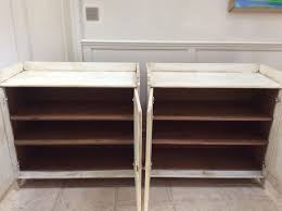of pine painted cream sideboard freestanding kitchen unit cupboard