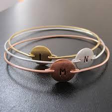 monogram initial bracelet 3 initial monogram bracelet set monogram initial bracelets