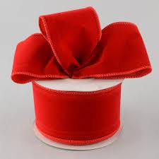 wired ribbon 2 5 velvet wired ribbon 10 yards rl144724 craftoutlet