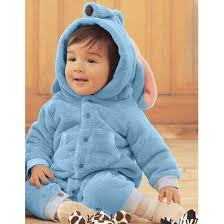 Elephant Halloween Costume Baby Blue Elephant Romper Climbing Clothing N5851