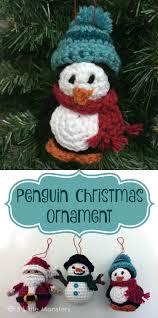 5 little monsters penguin christmas ornament