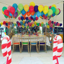 baloons delivered bachus balloon table copy s 6th birthday