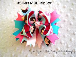 handmade hair bows handmade 6 xl boutique hair bow yiru yiru baby shop