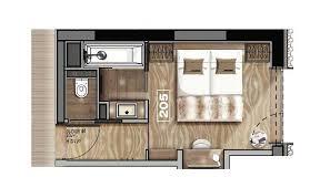 plan d une chambre d hotel room top floor hôtel la tovière à val d isère