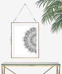 minimalist art print black and white decor wall art print