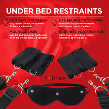 Bedroom Restraints Tortra Handcuffs Under Bed Restraints Beginner Kit