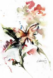 watercolor paintings of butterflies vivace butterfly on