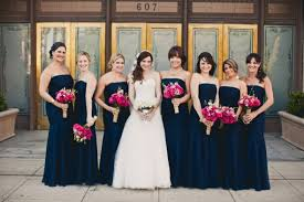 gorgeous navy blue bridesmaid dresses to inspire you cherry marry